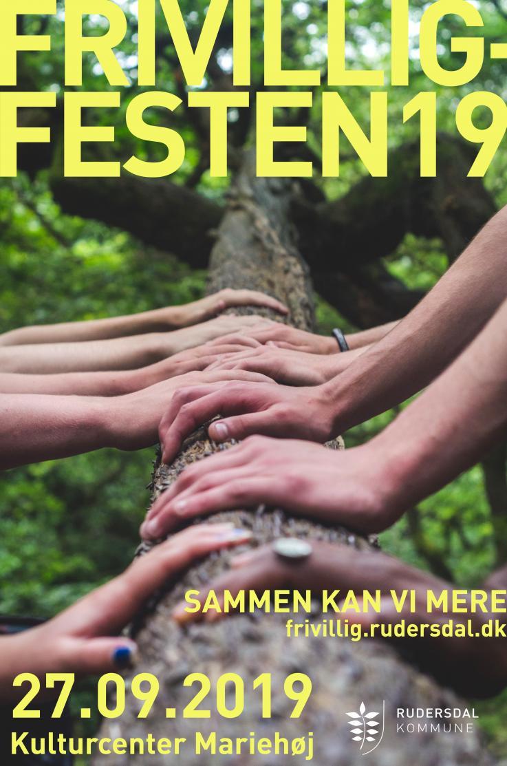 Frivilligfest plakat 2019