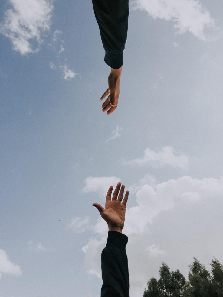 Hænder der ikke rører
