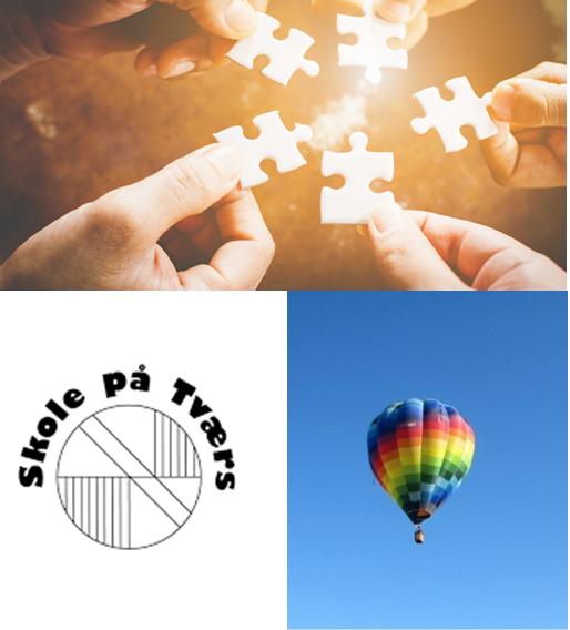 Logo for Skole på Tværs