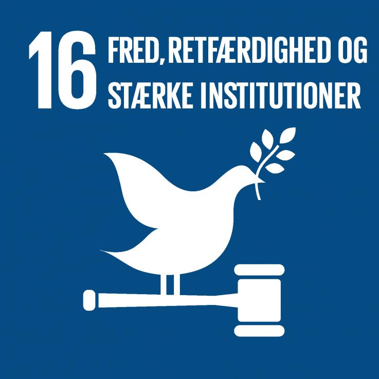 Verdensmål_Fred, retfærdighed og stærke institutioner