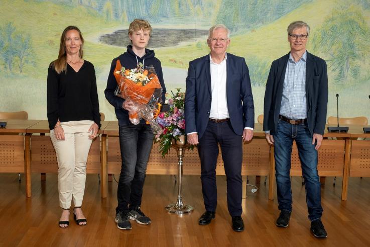Talentpris Peter Anton Juhl Madsen