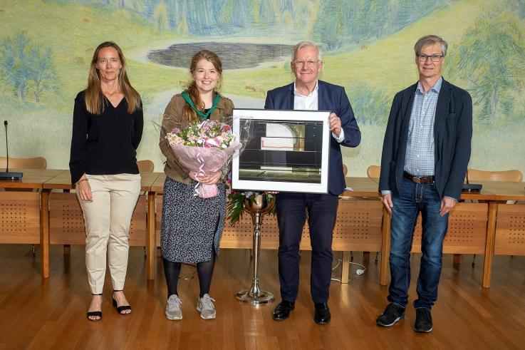 Ungdomslederprisen 2020 Kristine Stub Rønø