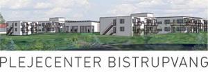 Et billede af Bistrupvangs logo, som er en tegning af bygningerne