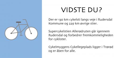 Cykling - Vidste du