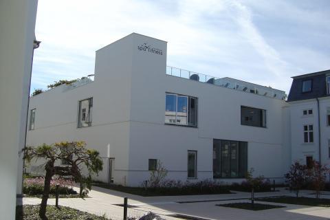 Skodsborg Sundhedscenter A/S fik hædrende omtale ved Arkitekturprisen i 2013