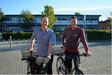 De to opsøgende støtte- og kontaktpersoner, Lasse Gadgaard og Alexander Schwaner