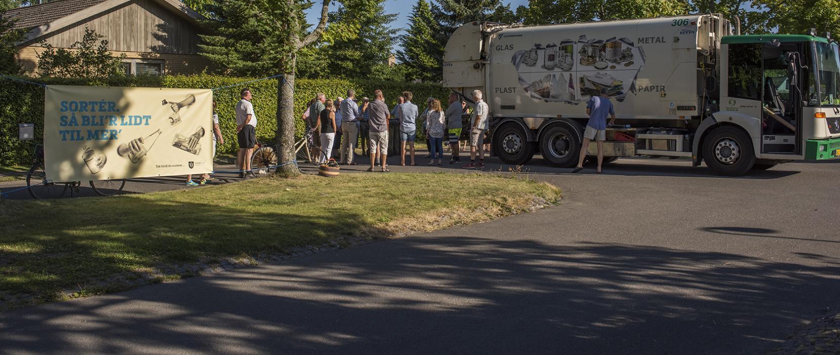 Intro til affaldssortering for beboere i Eskemosevang Grundejerforening