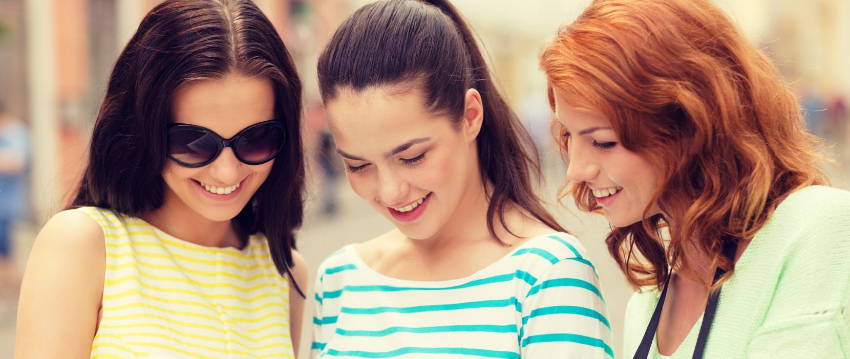 Unge piger vælger