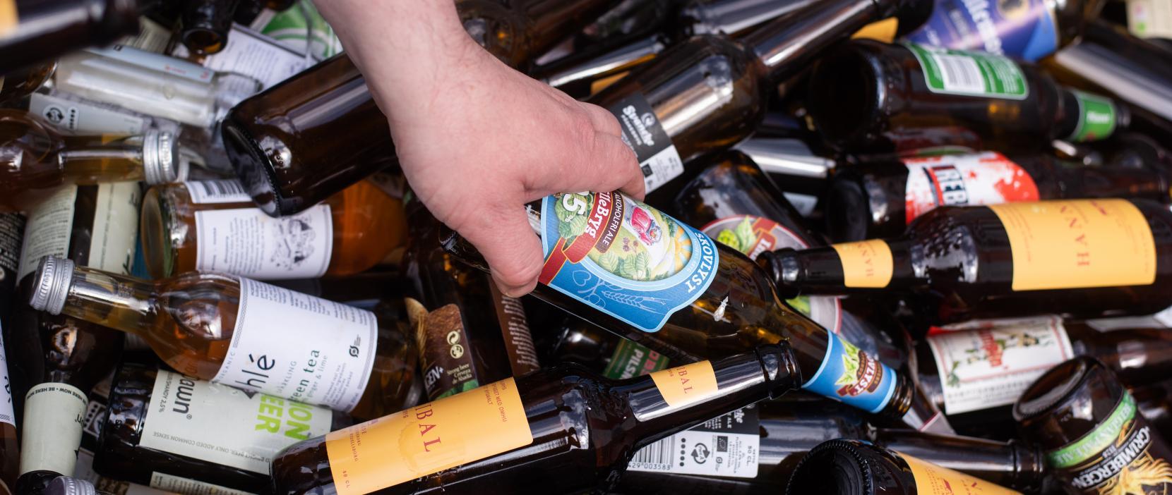 Holte Midtpunkt har fokus på affaldssortering